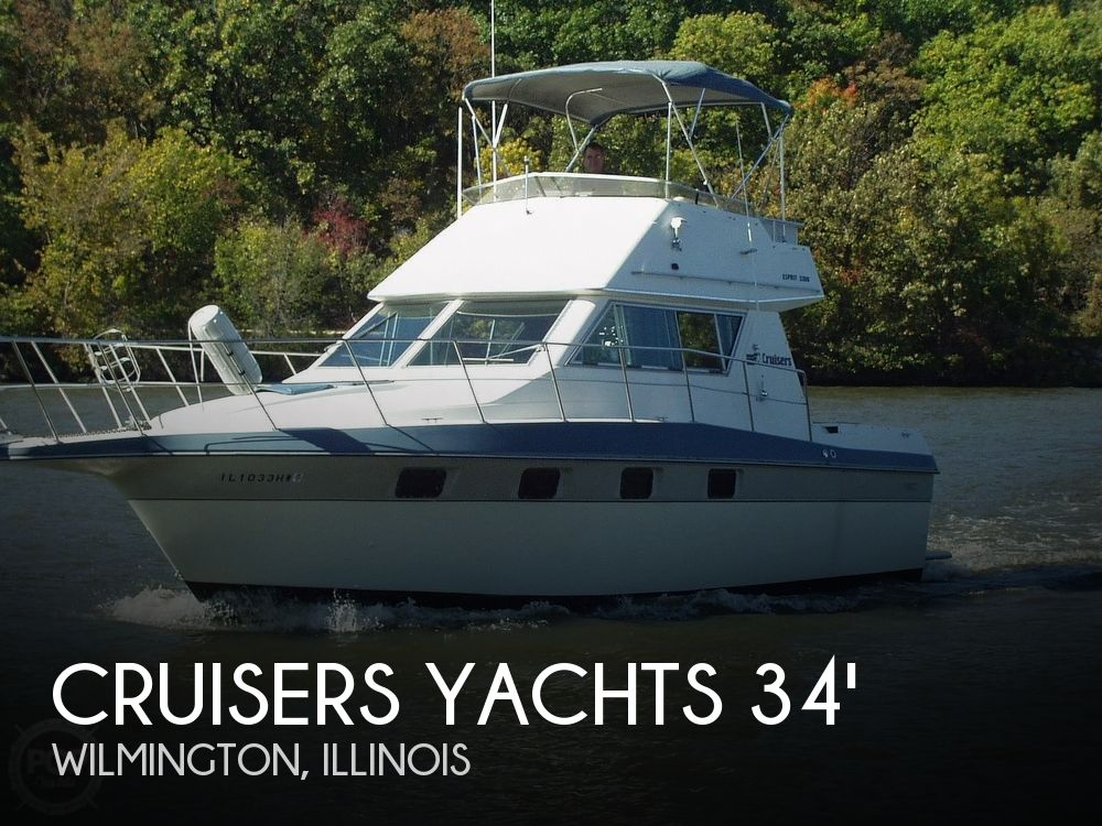 Used Motoryachts For Sale by owner | 1988 Cruisers Yachts 3380 Esprit
