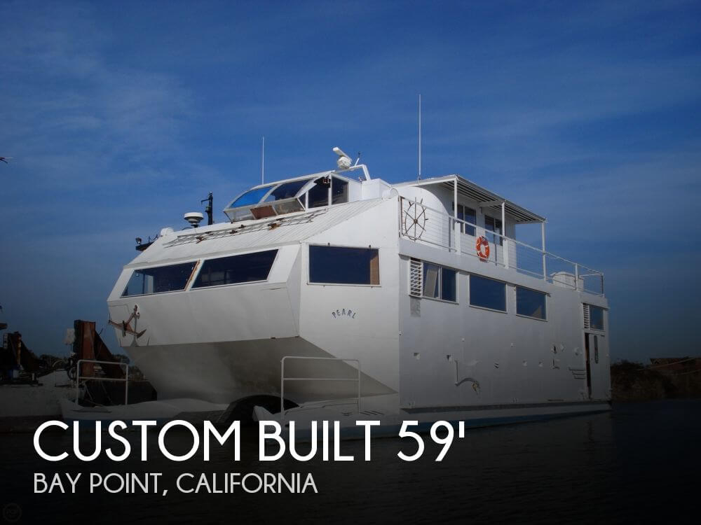 Custom built catamaran for sale in bay point ca for for Motor yachts for sale near me