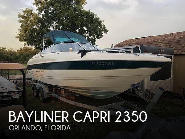 Used Bayliner 23 Boats For Sale by owner | 2000 Bayliner Capri 2350