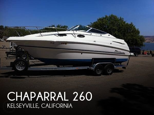 Used Chaparral 26 Boats For Sale by owner | 2003 Chaparral Signature 260