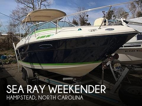 2001 Sea Ray boat for sale, model of the boat is Weekender & Image # 1 of 41