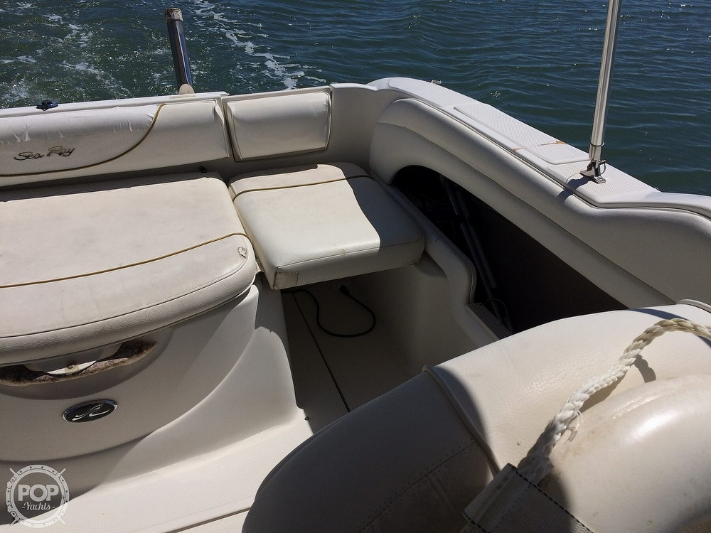 2001 Sea Ray boat for sale, model of the boat is Weekender & Image # 33 of 41