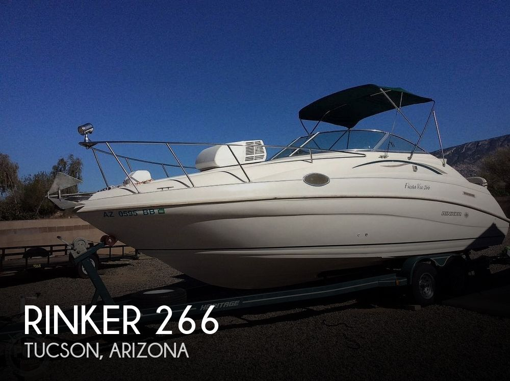 Used Boats For Sale in Tucson, Arizona by owner | 1998 Rinker Fiesta Vee 266