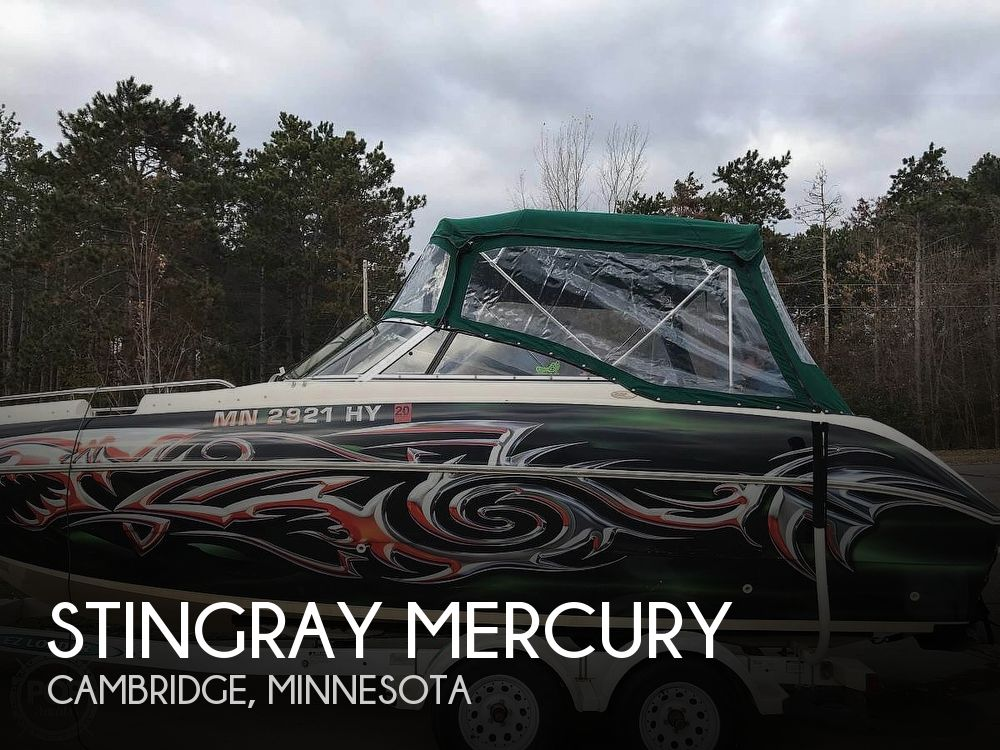 Used Power boats For Sale by owner | 2000 22 foot Stingray Mercury