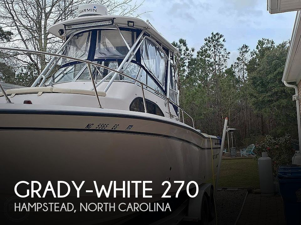 Used Grady-White Boats For Sale in North Carolina by owner | 2003 Grady-White Islander 270