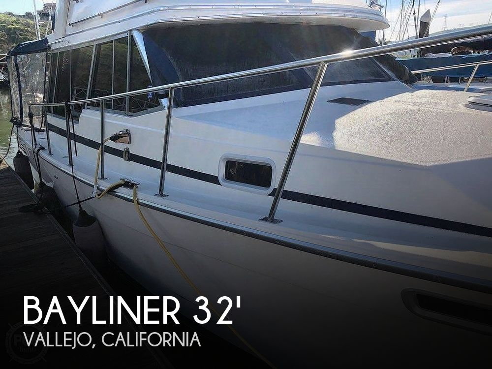 Used Bayliner Motoryachts For Sale by owner | 1989 Bayliner 32