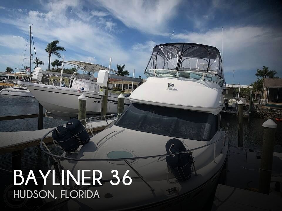 Used Bayliner Boats For Sale in Florida by owner | 2002 Bayliner 36