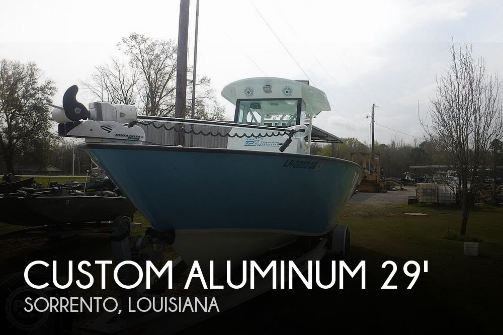 Used Boats For Sale in Baton Rouge, Louisiana by owner | 2017 Custom Aluminum Gaudet 29
