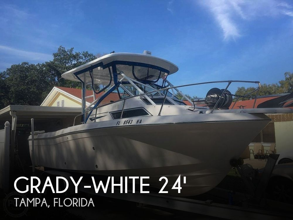1994 Grady-White boat for sale, model of the boat is 24 Explorer & Image # 1 of 17