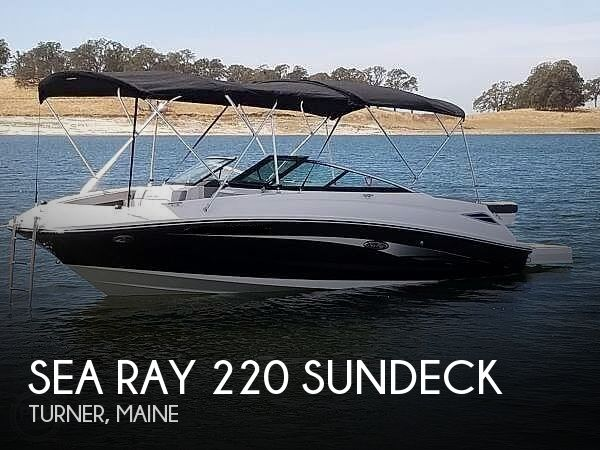2016 SEA RAY 220 SUNDECK for sale