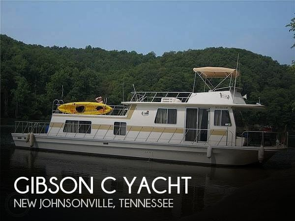 Used GIBSON Boats For Sale by owner | 1985 52 foot Gibson C Yacht