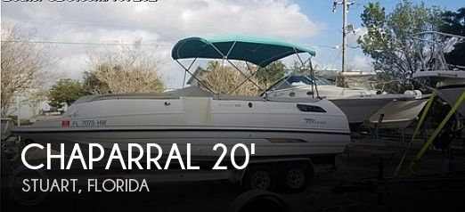 Used Chaparral Deck Boats For Sale in Florida by owner | 1995 Chaparral 20.5 Sunesta