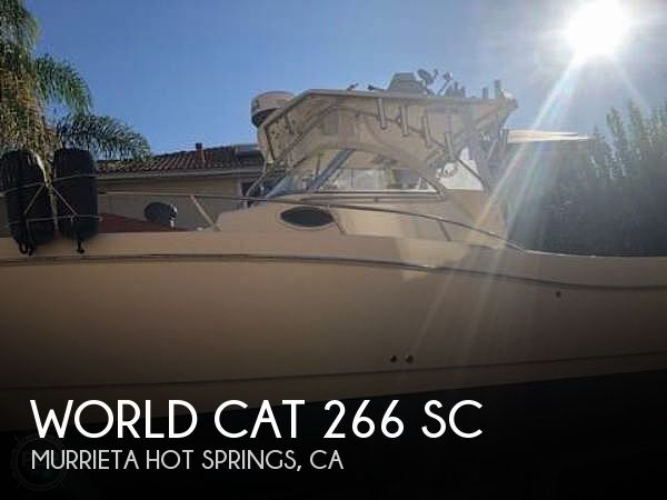 Used World Cat Boats For Sale by owner | 1999 World Cat 266 SC