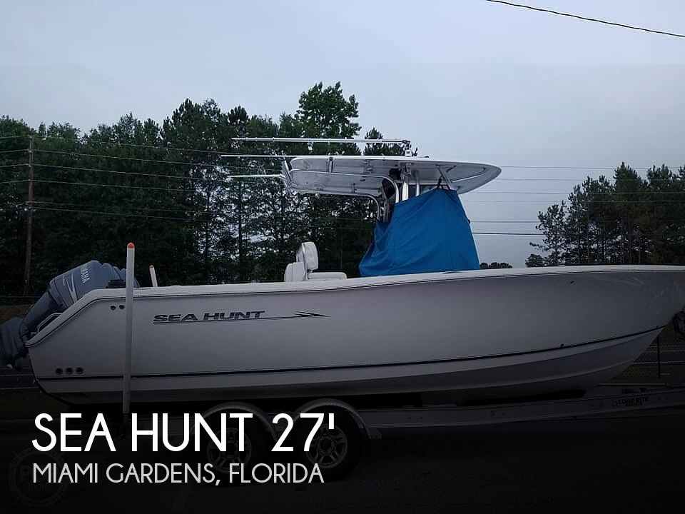 Used Sea Hunt Boats For Sale by owner | 2012 Sea Hunt 27 CC
