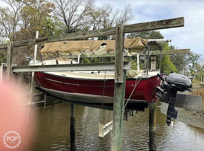 2014 Com-Pac boat for sale, model of the boat is Sunday Cat 17 & Image # 2 of 20