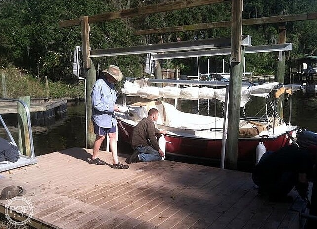 2014 Com-Pac boat for sale, model of the boat is Sunday Cat 17 & Image # 3 of 20