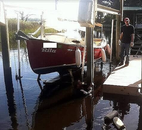 2014 Com-Pac boat for sale, model of the boat is Sunday Cat 17 & Image # 4 of 20