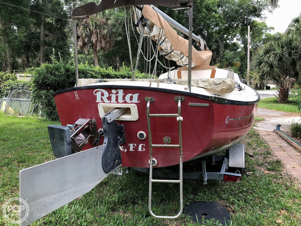 2014 Com-Pac boat for sale, model of the boat is Sunday Cat 17 & Image # 15 of 20