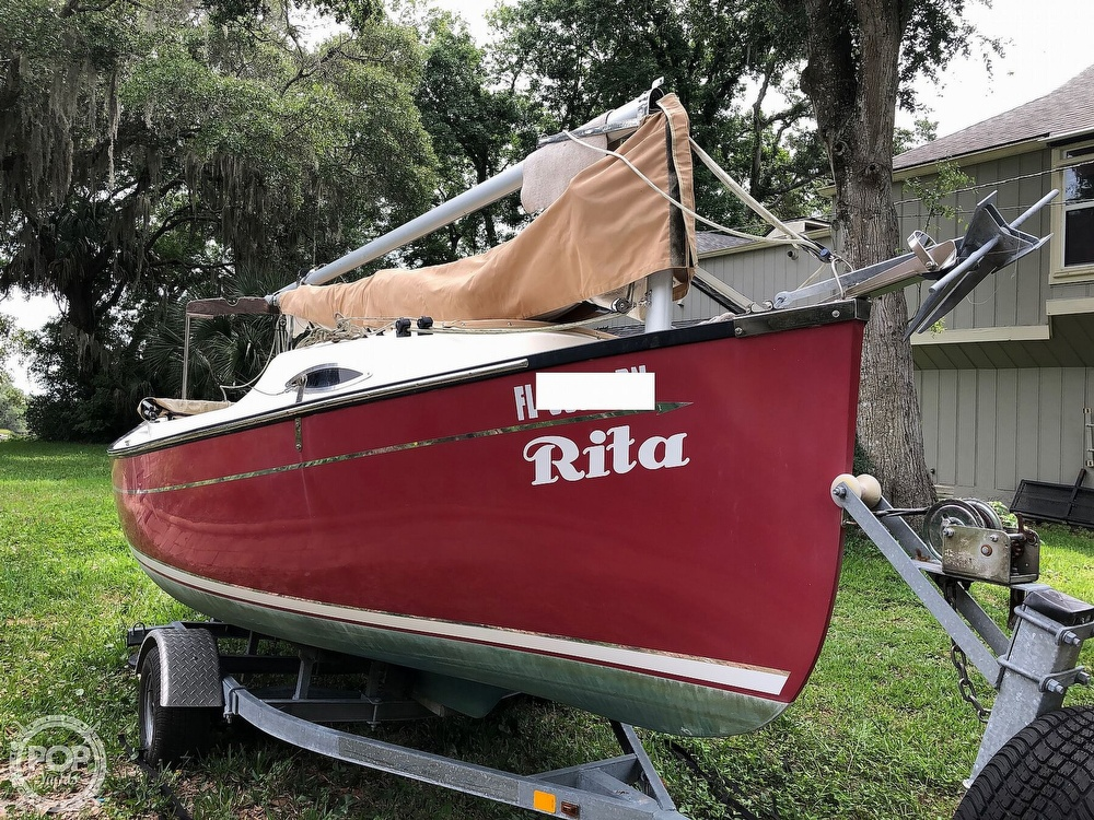 2014 Com-Pac boat for sale, model of the boat is Sunday Cat 17 & Image # 16 of 20