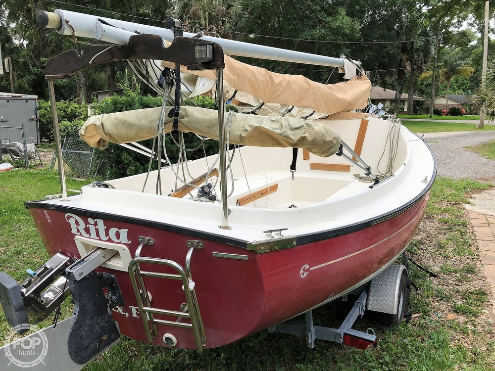 2014 Com-Pac boat for sale, model of the boat is Sunday Cat 17 & Image # 17 of 20