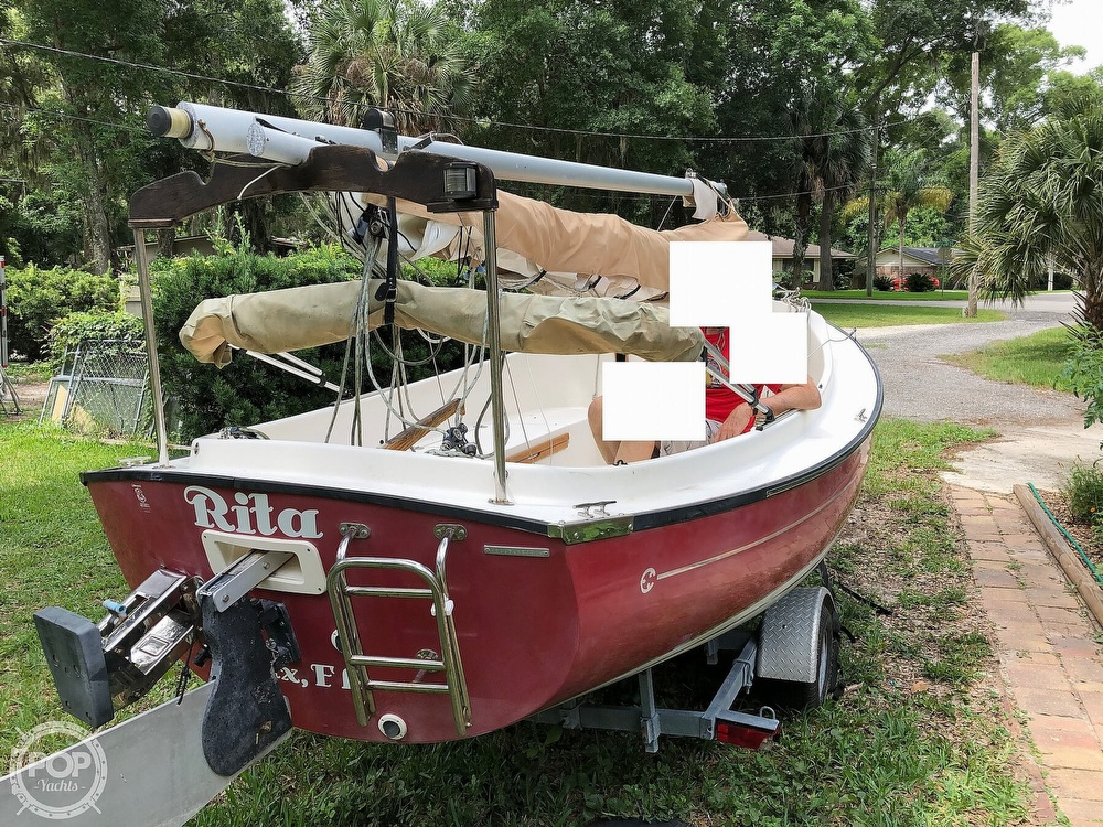2014 Com-Pac boat for sale, model of the boat is Sunday Cat 17 & Image # 18 of 20