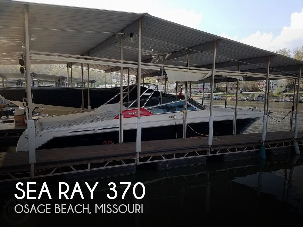 1990 Sea Ray boat for sale, model of the boat is 370 Sun Sport & Image # 1 of 40