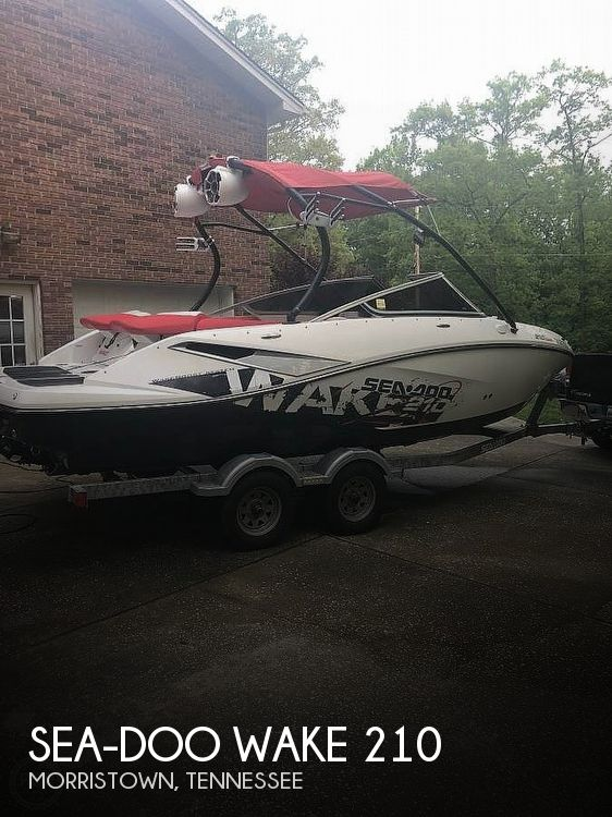 Used Sea-Doo Boats For Sale by owner | 2010 Sea-Doo Wake 210