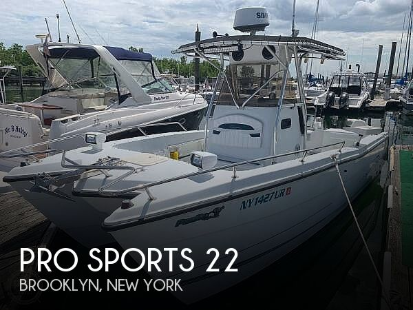 Used Pro Sports Boats For Sale by owner | 2000 Pro Sports 22
