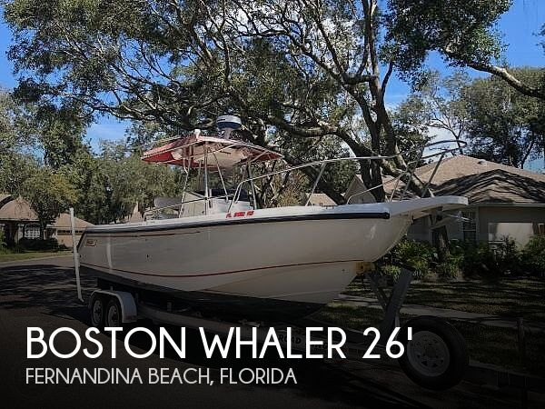 Used Boston Whaler outrage Boats For Sale by owner | 2001 26 foot Boston Whaler OUTRAGE