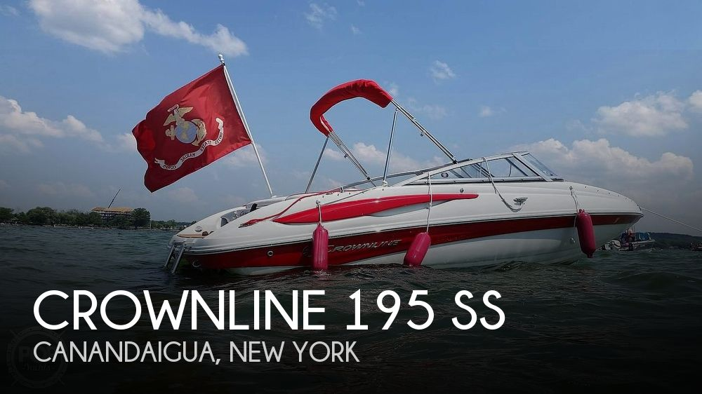 Used Ski Boats For Sale in Syracuse, New York by owner | 2015 Crownline 19