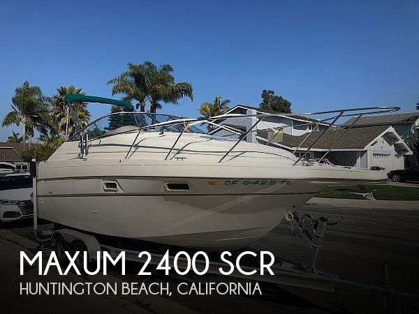 Used Maxum Boats For Sale in California by owner | 1997 Maxum 2400 Scr