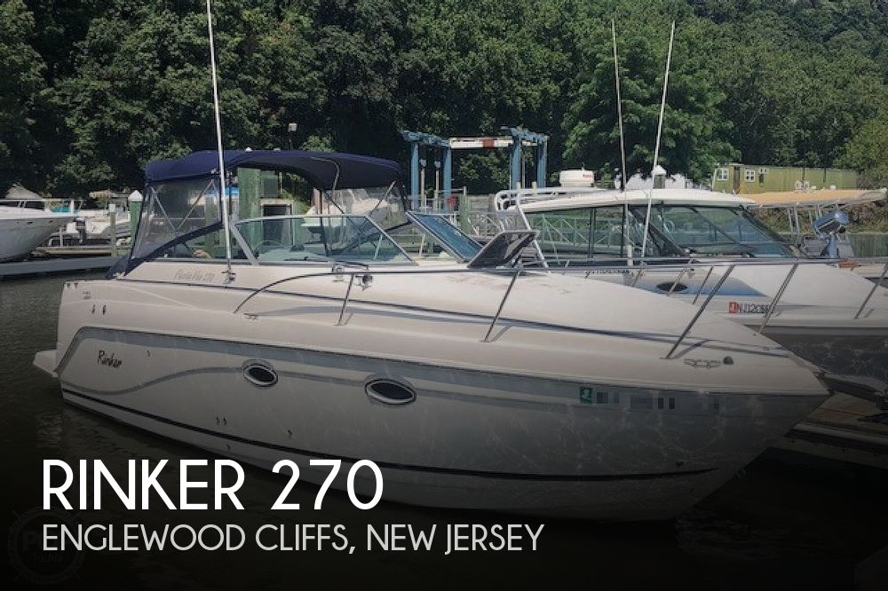 Used Rinker  fiesta Boats For Sale by owner | 2004 Rinker 270 Fiesta Vee