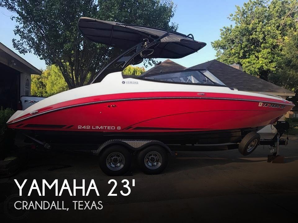 Used Yamaha Boats For Sale in Texas by owner | 2016 Yamaha 242 Limited S E-series
