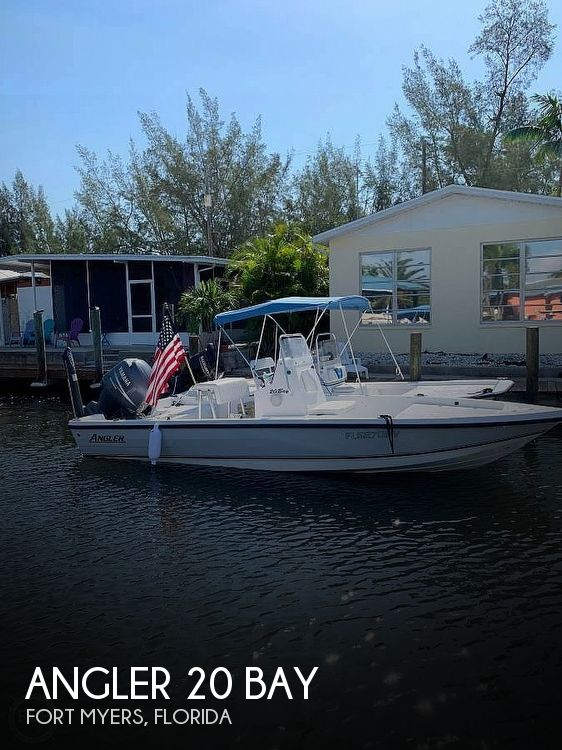 Used Angler Boats For Sale by owner | 2009 Angler 20 Bay