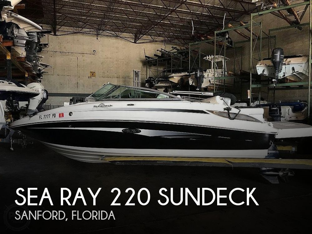 Used Sea Ray 220 Sundeck Boats For Sale by owner | 2010 Sea Ray 220 Sundeck