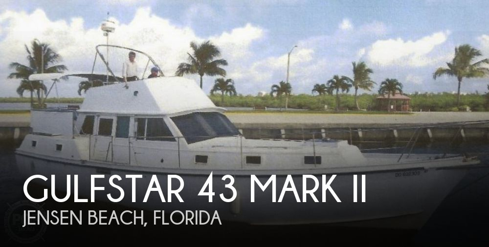 1976 GULFSTAR MARK II TRAWLER for sale