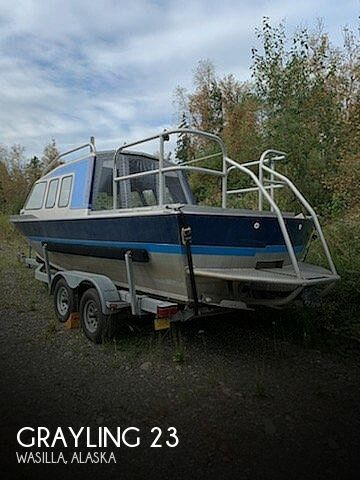 Used Boats For Sale in Anchorage, Alaska by owner | 1984 grayling 23