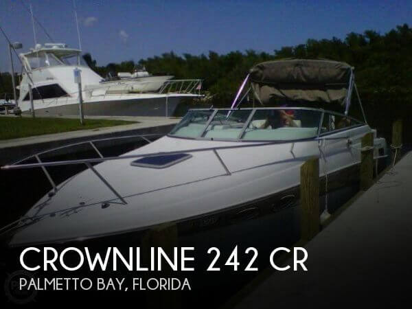 2003 CROWNLINE 242 CR for sale