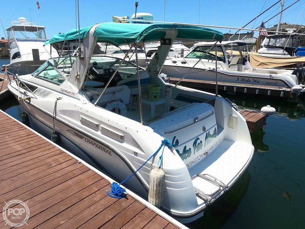 1992 Chaparral boat for sale, model of the boat is Signature 28 & Image # 8 of 40