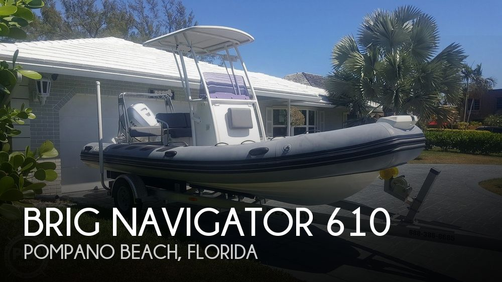 Used Brig Boats For Sale by owner | 2018 Brig Navigator 610