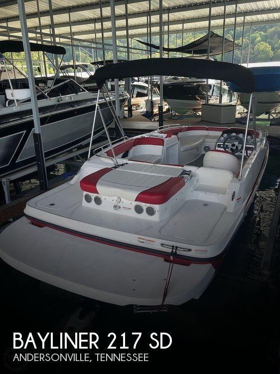 Used Bayliner Deck Boats For Sale by owner | 2012 Bayliner 217 SD