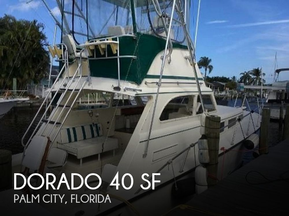 Used Dorado Boats For Sale by owner | 1995 Dorado 40