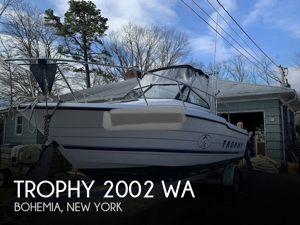 1996 Trophy boat for sale, model of the boat is 2002 WA & Image # 1 of 41