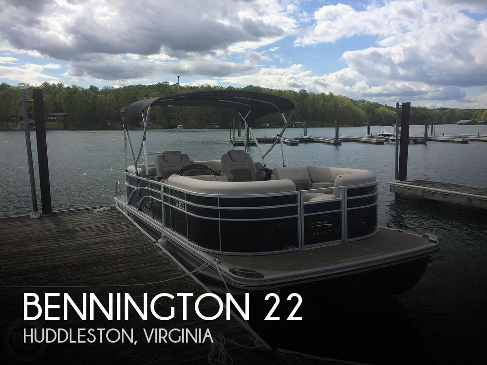 Used Boats For Sale in Roanoke, Virginia by owner | 2016 Bennington 22