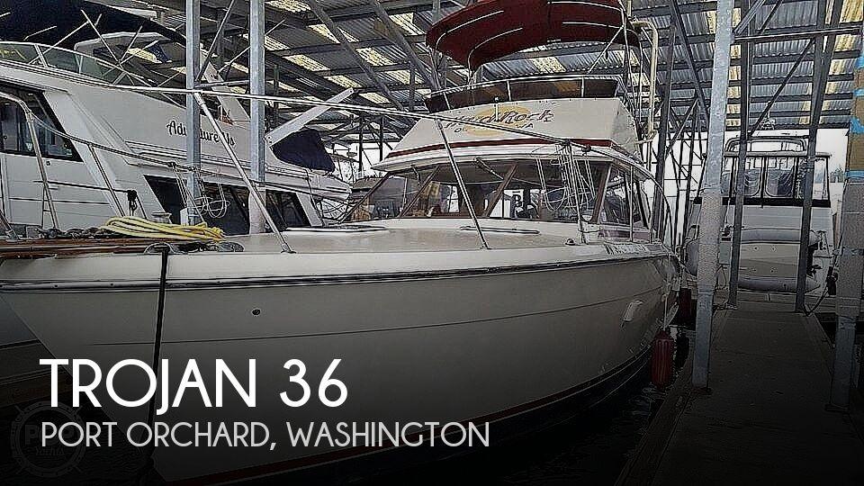 Used Trojan Boats For Sale in Washington by owner   1985 Trojan 36