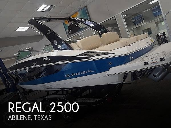 Used Regal Boats For Sale in Texas by owner | 2018 Regal 2500