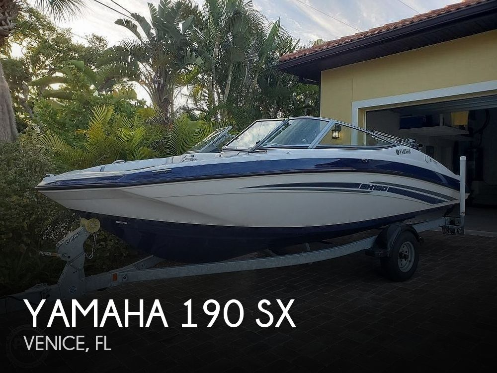 Used Yamaha Boats For Sale in Cape Coral, Florida by owner | 2017 Yamaha 190 SX