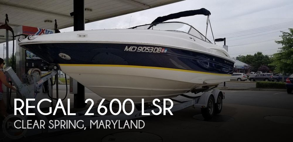 Used Regal 2600 LSR Boats For Sale by owner | 2005 Regal 2600 LSR