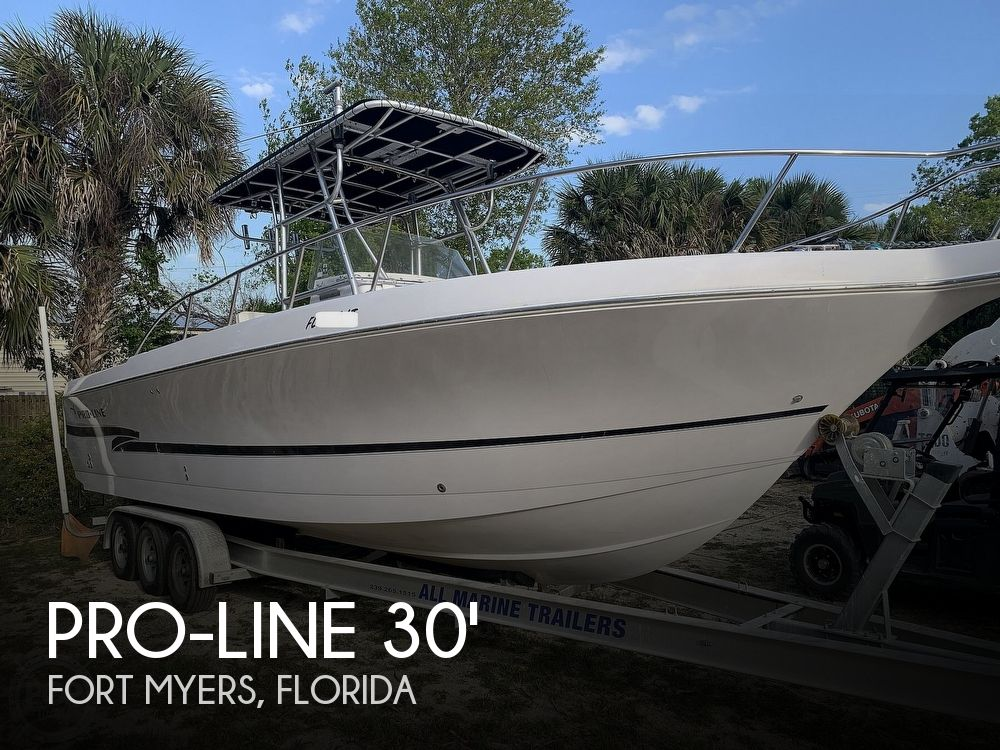 Used Pro-Line Boats For Sale by owner | 2000 Pro-Line 30 Sport Center Console