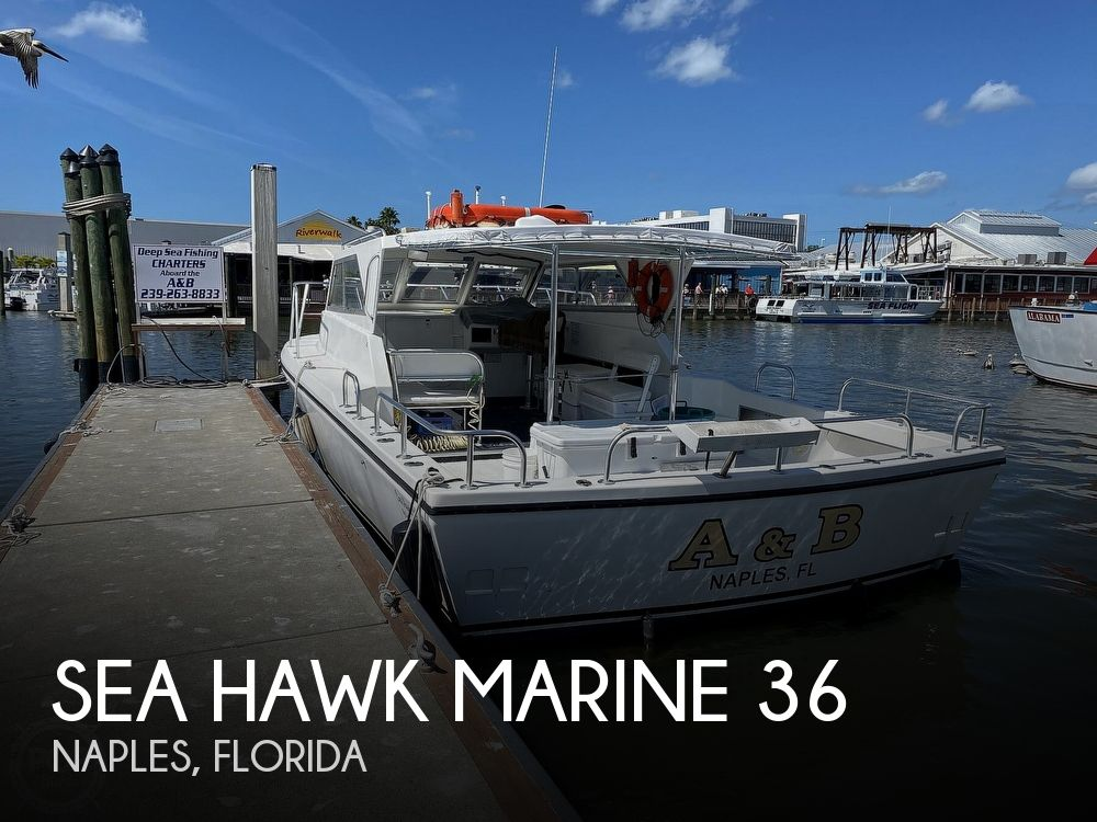 Used Boats For Sale in Naples, Florida by owner | 2014 Sea Hawk Marine 36